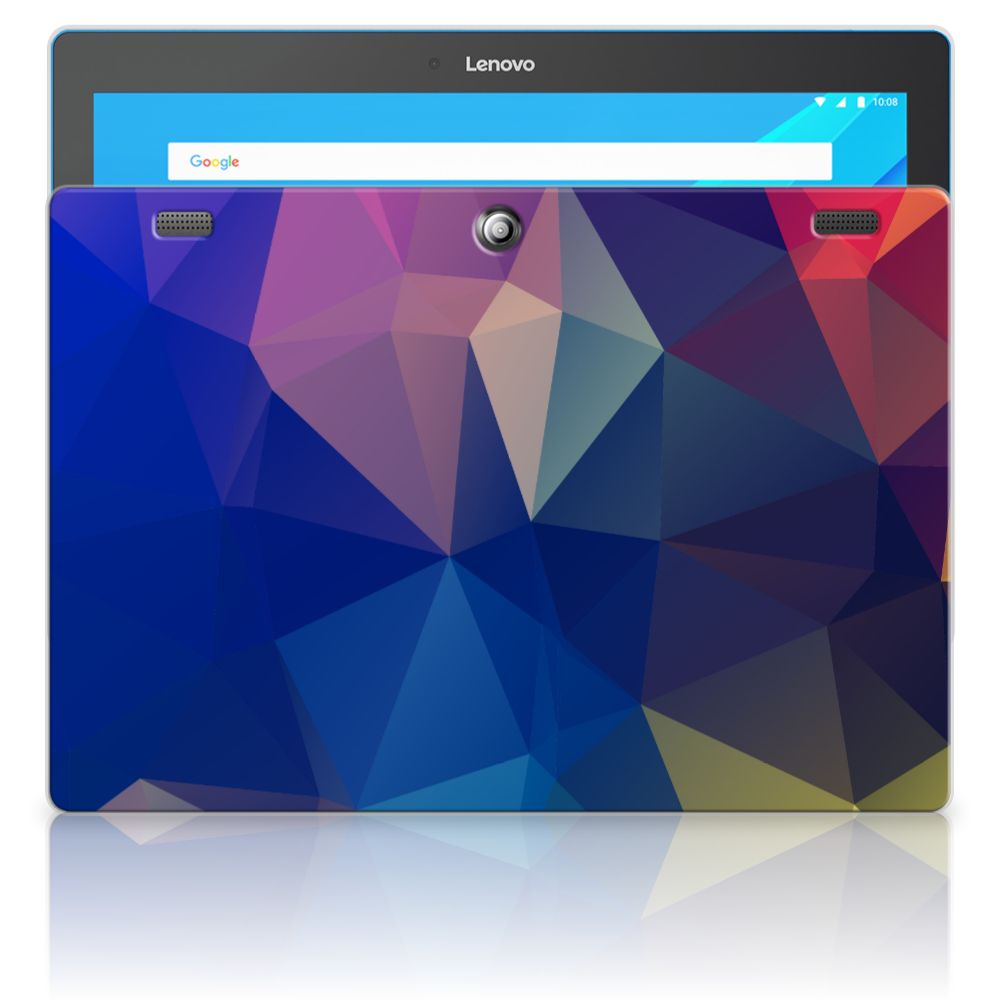 Lenovo Tab 10 | Tab 2 A10-30 Back Cover Polygon Dark