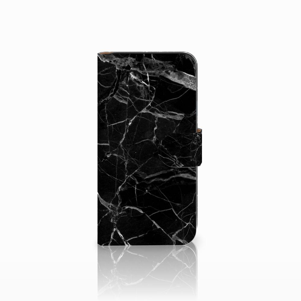 Samsung Galaxy E5 Uniek Boekhoesje Marmer Zwart