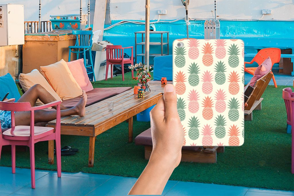Apple iPad Mini 4 | Mini 5 (2019) Tablet Cover Ananas