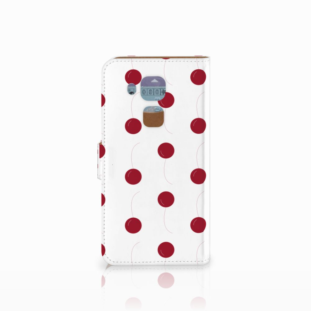 Huawei Nova Plus Book Cover Cherries