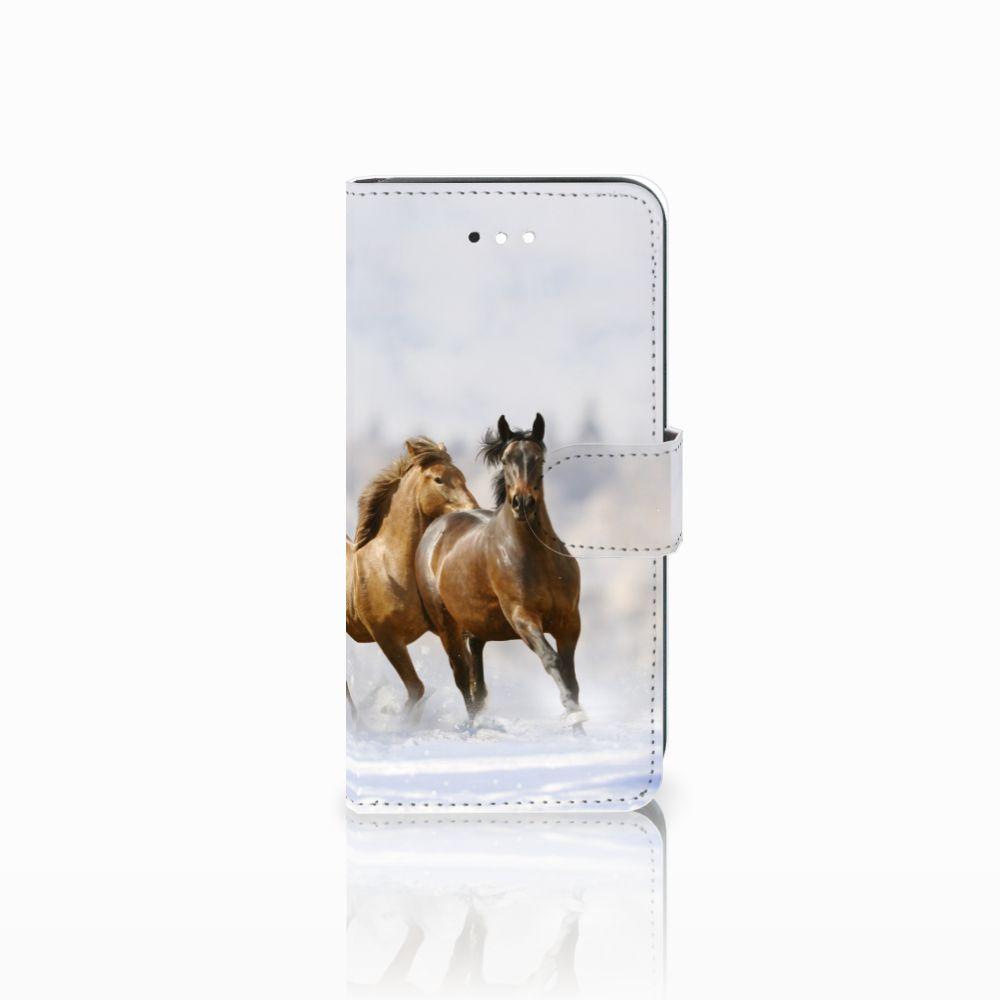 LG K11 Uniek Boekhoesje Paarden