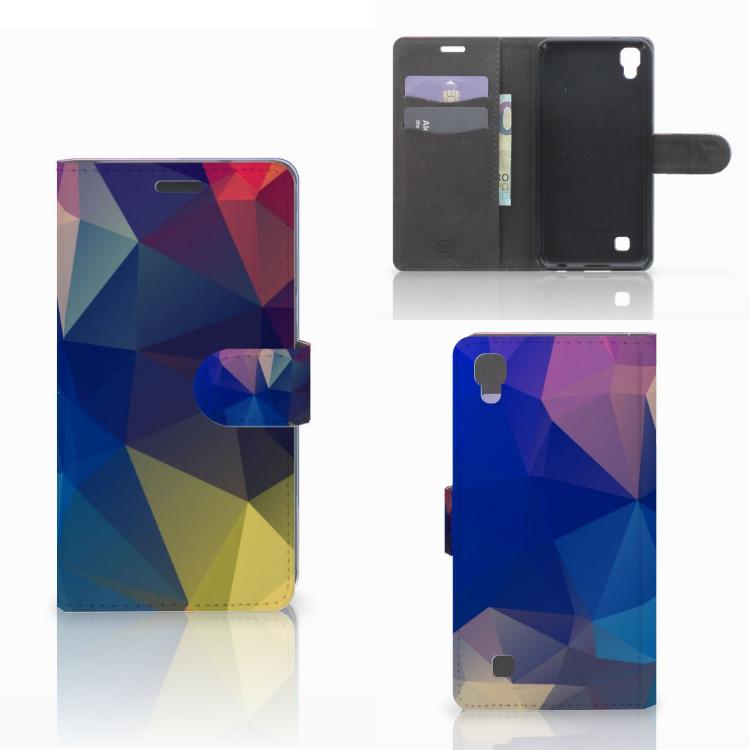 LG X Power Bookcase Polygon Dark