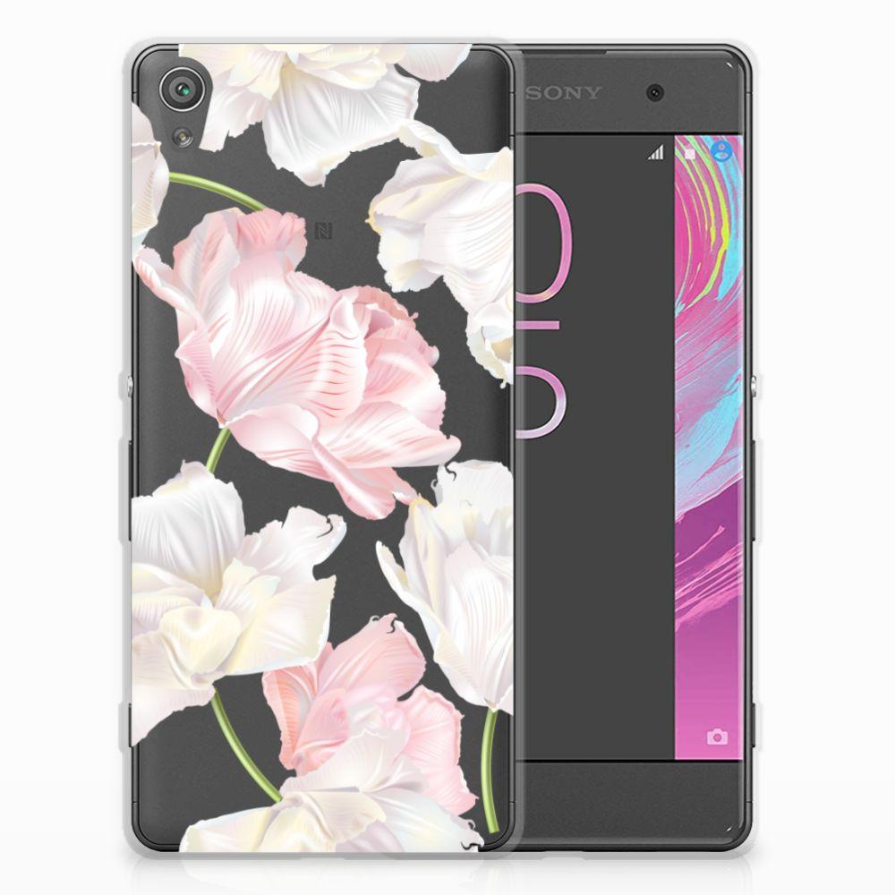 Sony Xperia XA | XA Dual TPU Hoesje Design Lovely Flowers