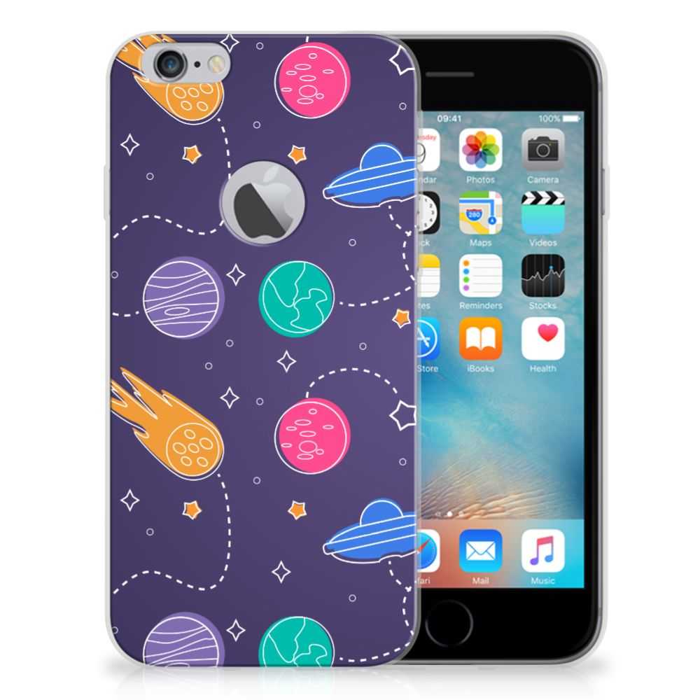 Apple iPhone 6 Plus | 6s Plus Silicone Back Cover Space