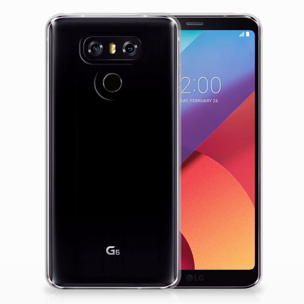 Siliconen Hoesje LG G6 Barok Pink