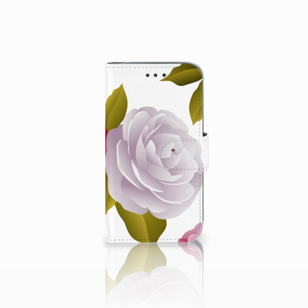 Samsung Galaxy Core Prime Uniek Boekhoesje Roses