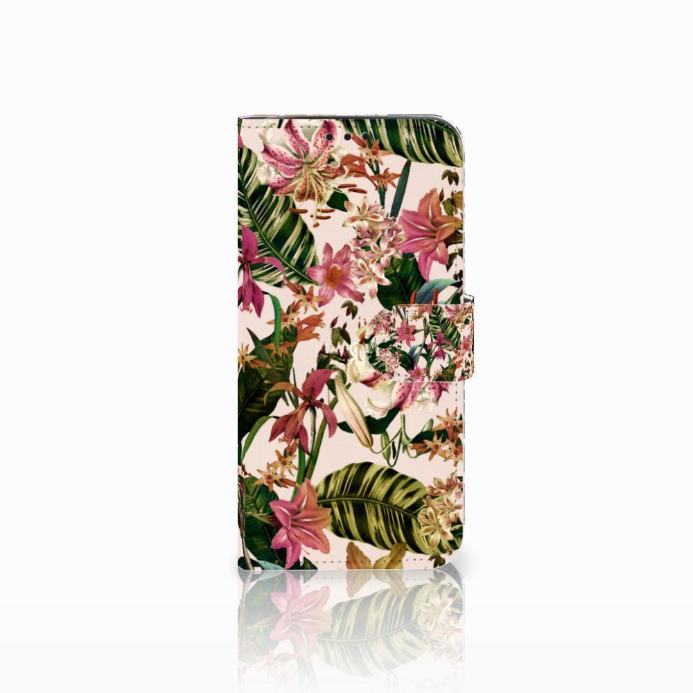 Xiaomi Pocophone F1 Uniek Boekhoesje Flowers