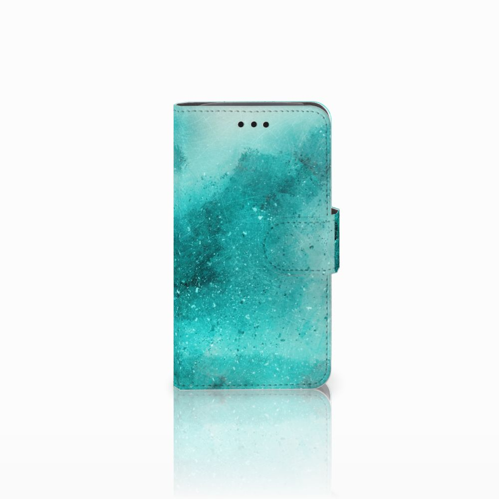 Hoesje Samsung Galaxy Core i8260 Painting Blue