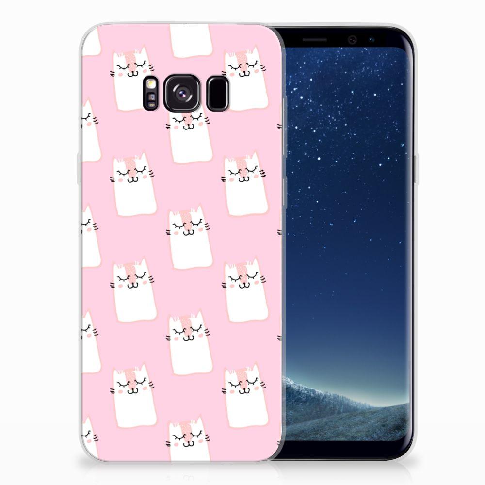 Samsung Galaxy S8 Plus TPU Hoesje Sleeping Cats