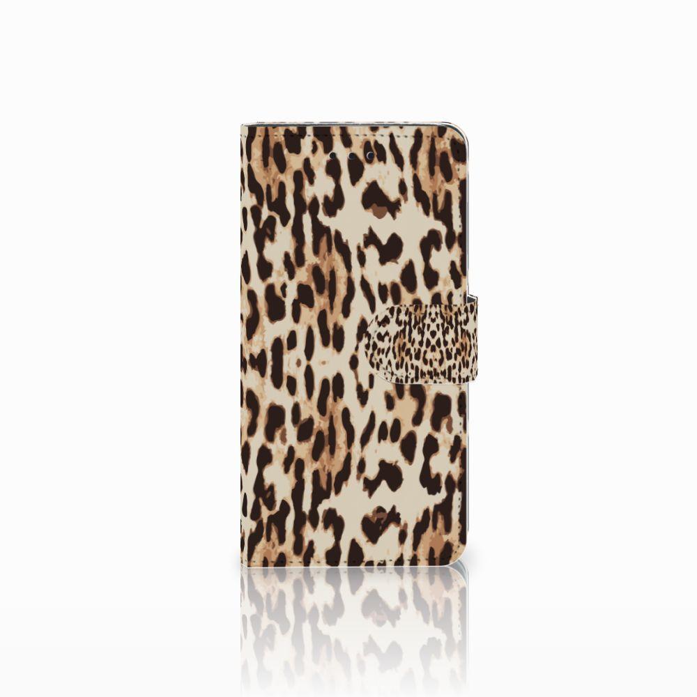 Huawei Y5 2018 Uniek Boekhoesje Leopard