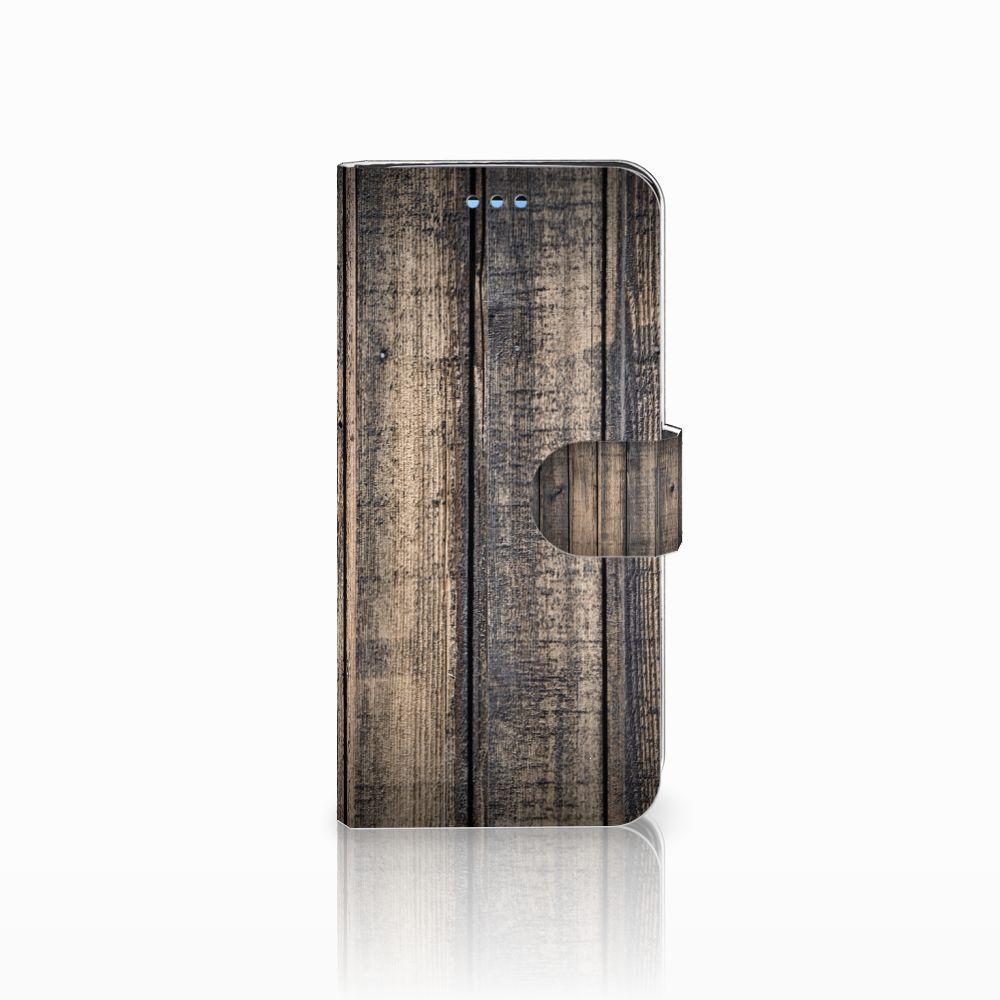 Samsung Galaxy S9 Boekhoesje Design Steigerhout