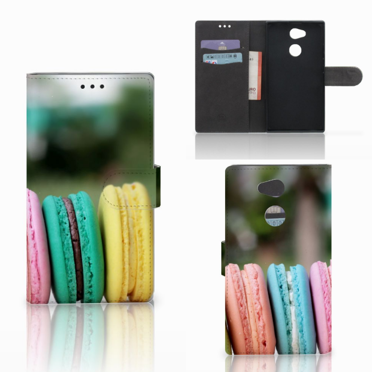Sony Xperia L2 Book Cover Macarons