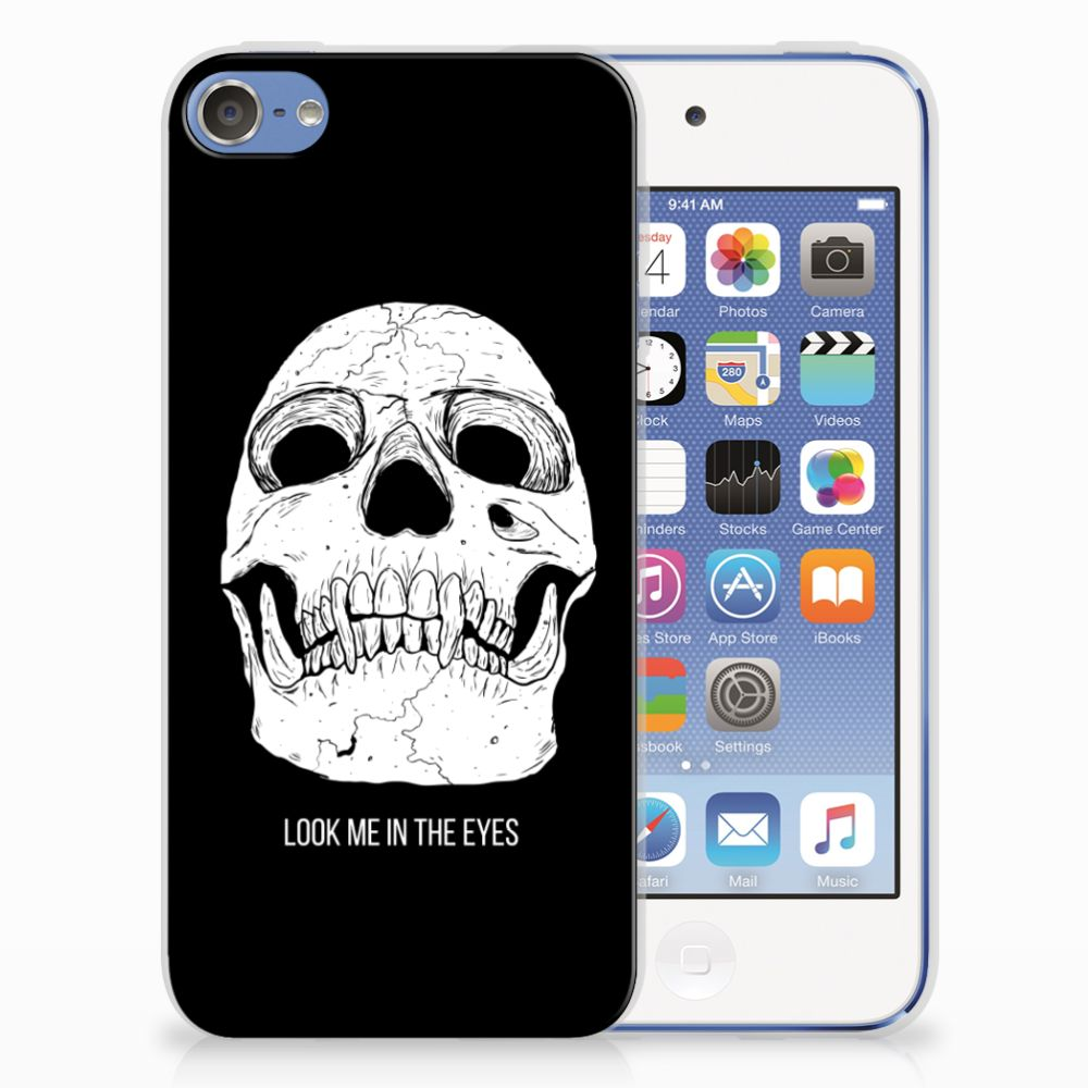 Silicone Back Case Apple iPod Touch 5 | 6 Skull Eyes