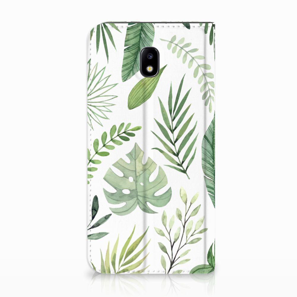 Samsung Galaxy J5 2017 Uniek Standcase Hoesje Leaves