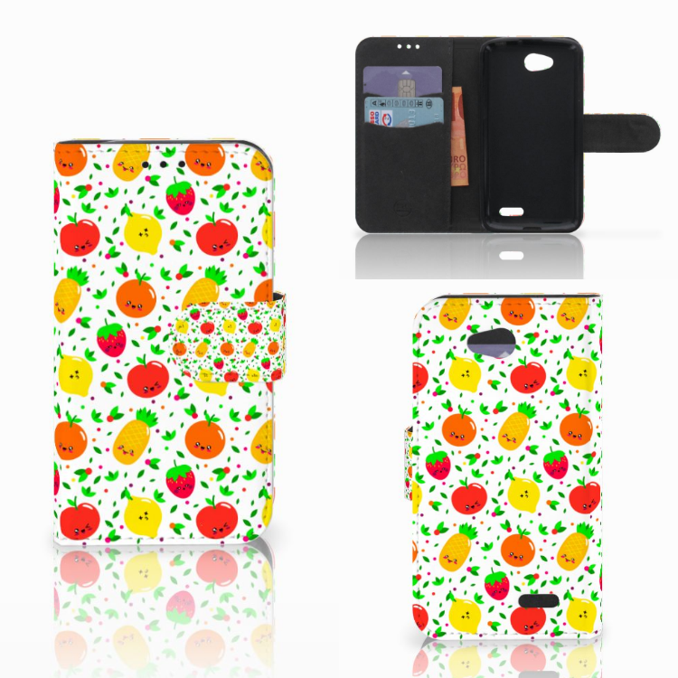 LG L90 Book Cover Fruits