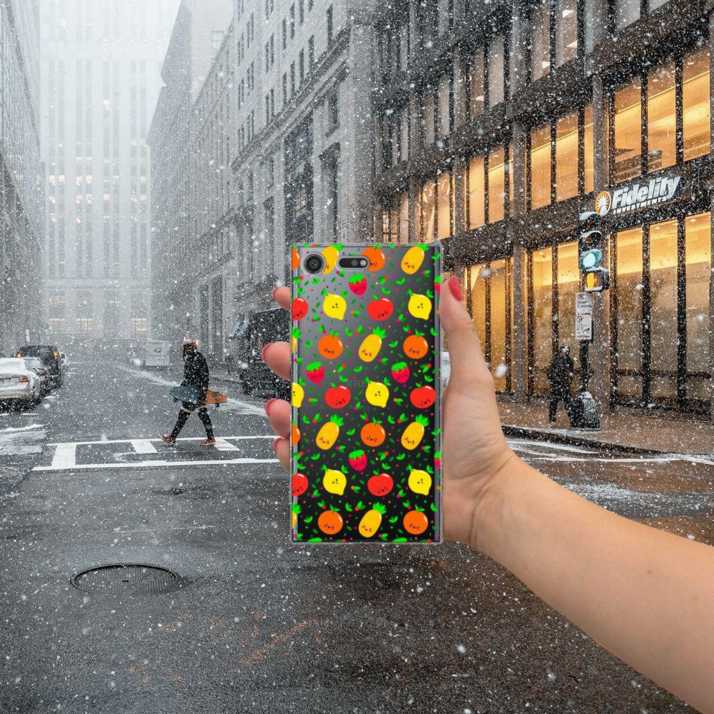 Sony Xperia XZ Premium Siliconen Case Fruits