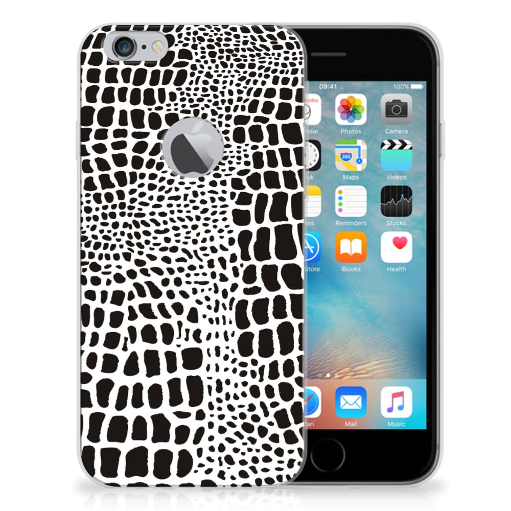 Apple iPhone 6 Plus | 6s Plus TPU Hoesje Slangenprint