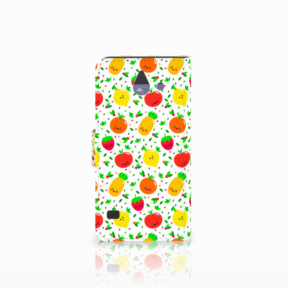 Huawei Ascend Y550 Book Cover Fruits