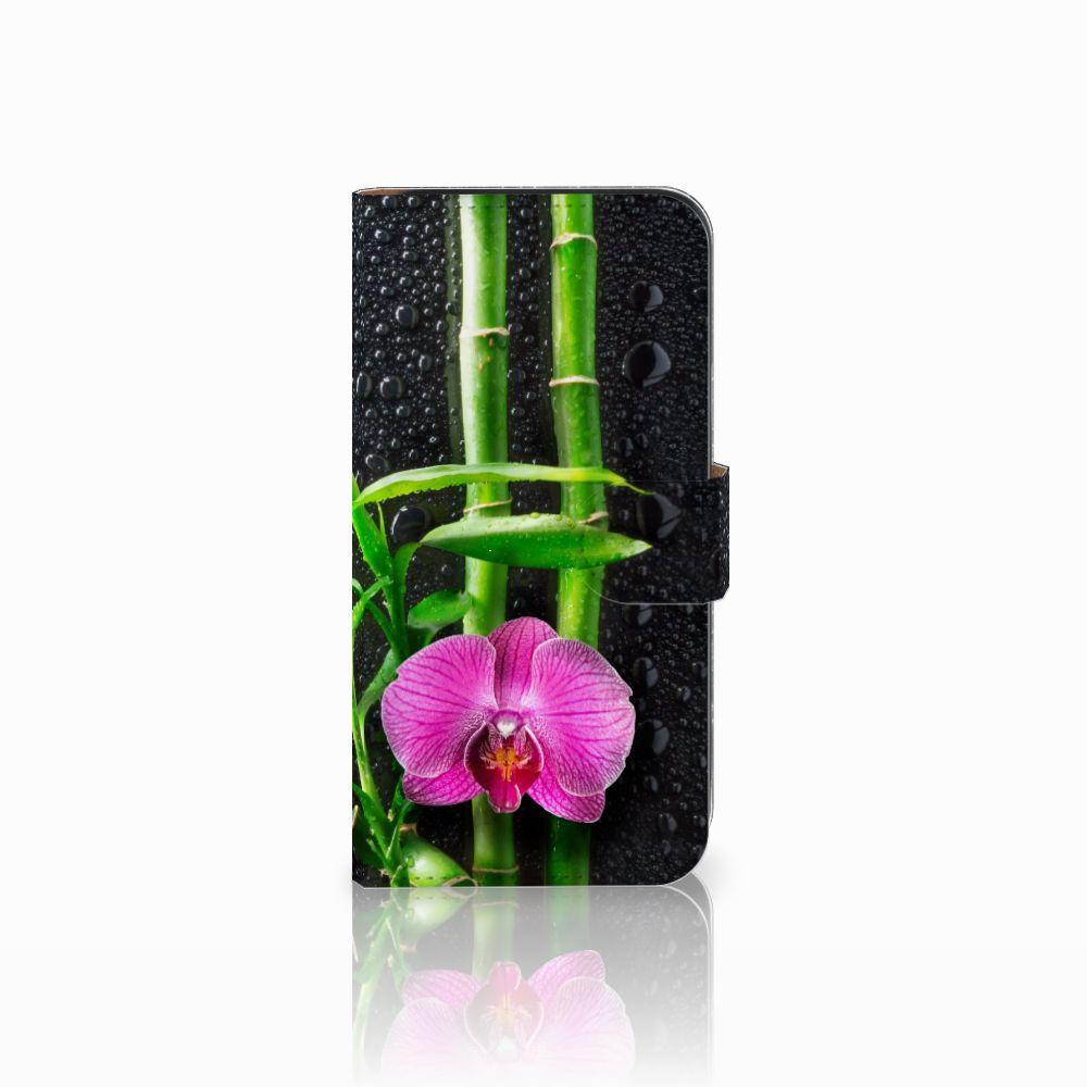 Samsung Galaxy E5 Boekhoesje Design Orchidee