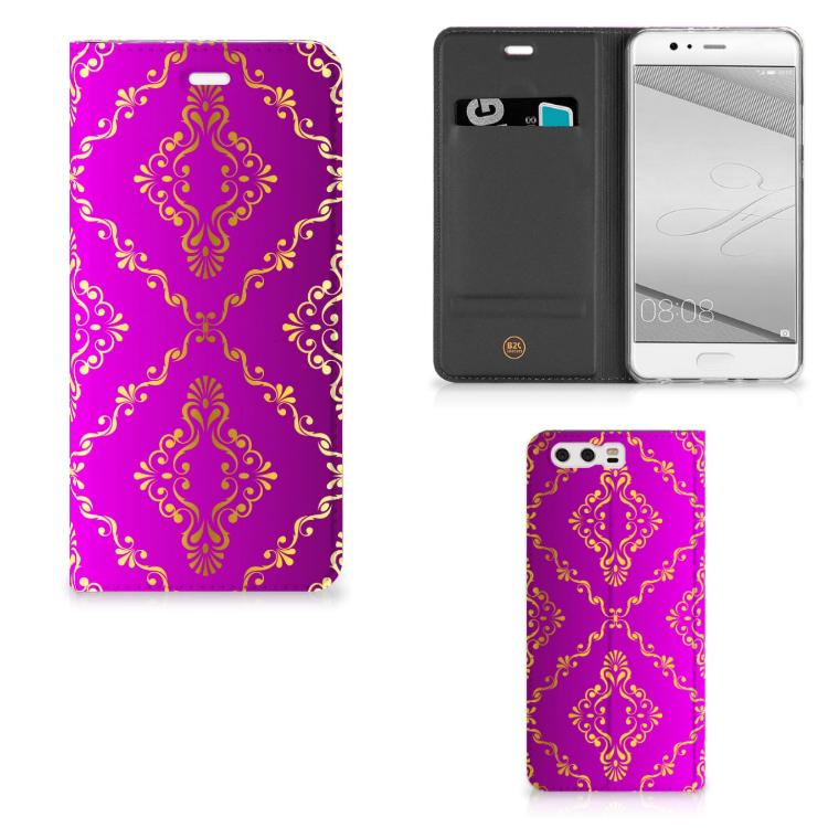 Telefoon Hoesje Huawei P10 Plus Barok Roze