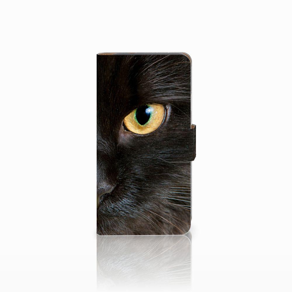 Google Pixel Uniek Boekhoesje Zwarte Kat
