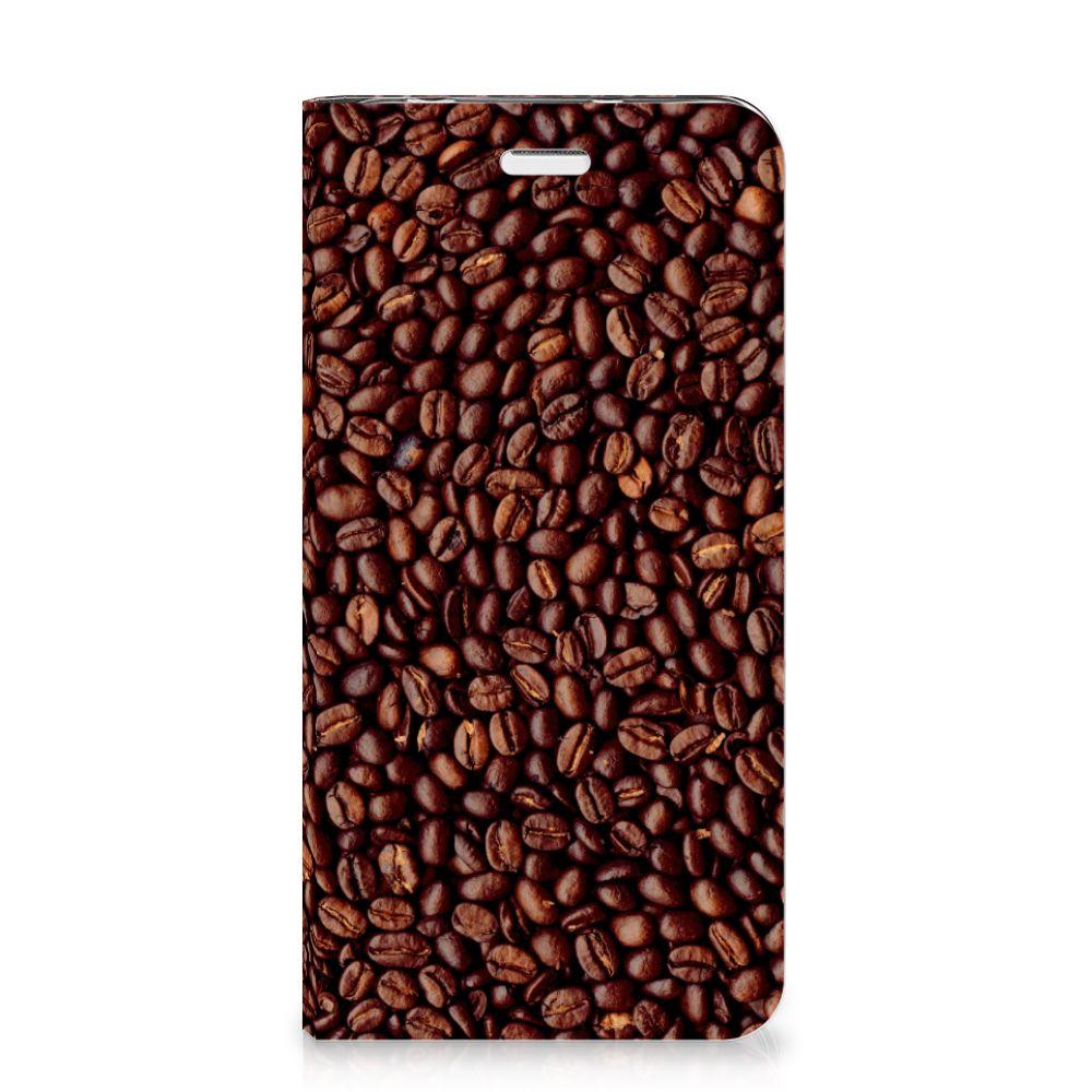 Huawei Y5 2 | Y6 Compact Flip Style Cover Koffiebonen