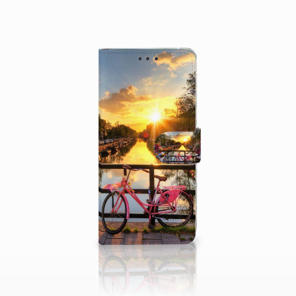 Huawei Mate 20 Uniek Boekhoesje Amsterdamse Grachten