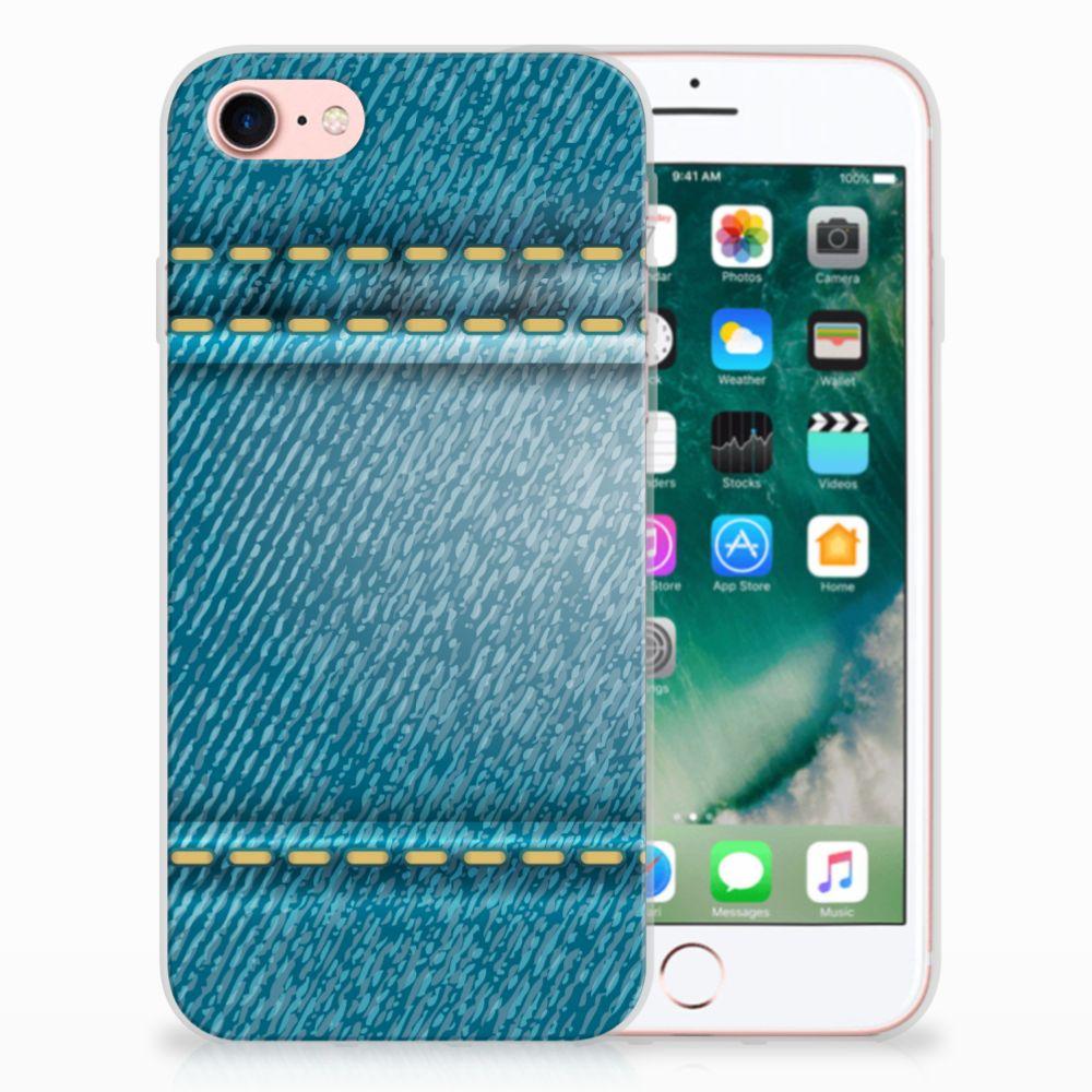 Apple iPhone 7 | 8 TPU Hoesje Design Jeans