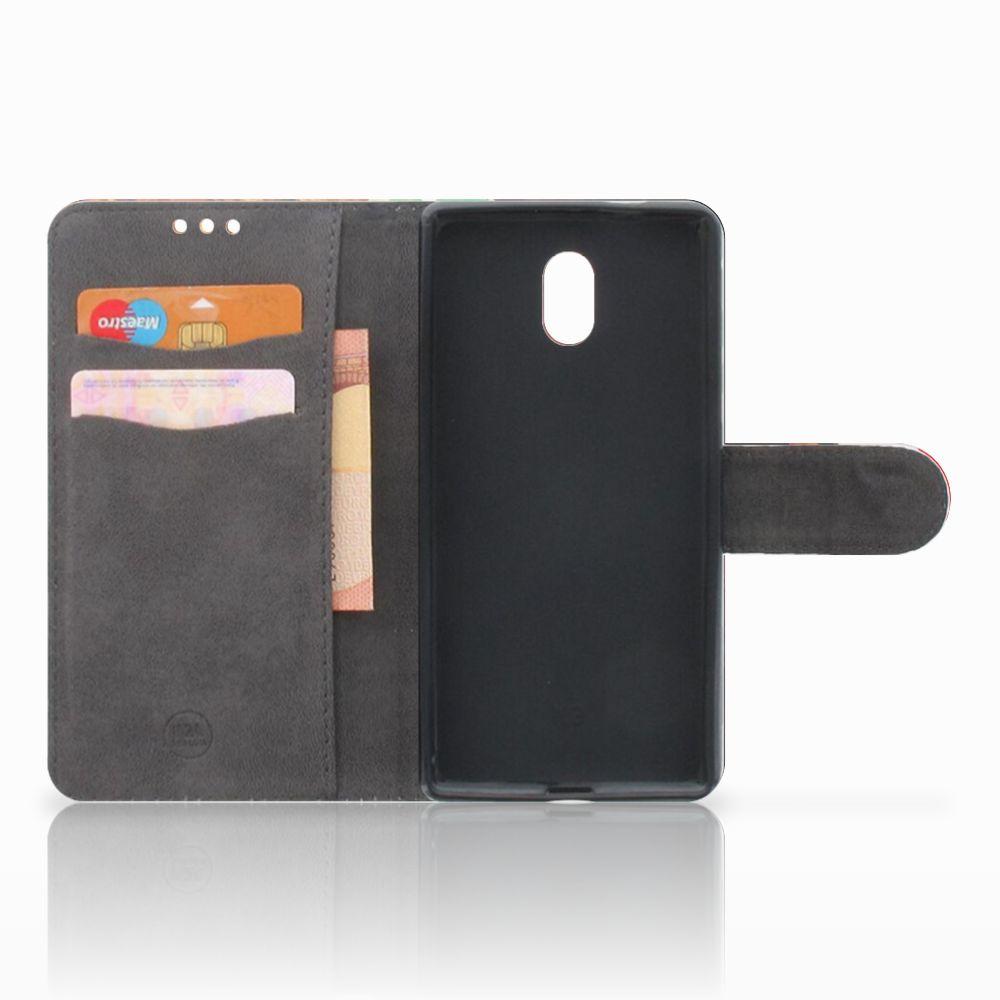 Nokia 3 Wallet Case met Pasjes Casino