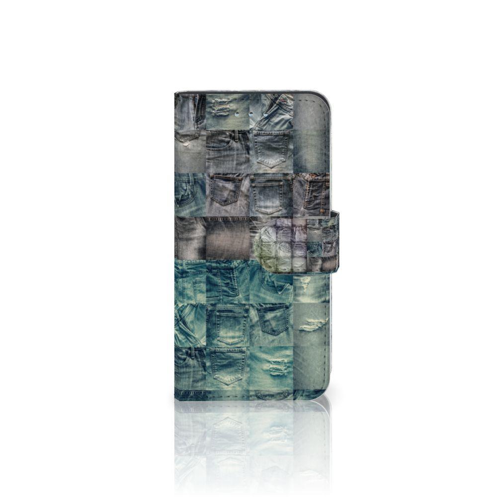 Samsung Galaxy S6 | S6 Duos Uniek Boekhoesje Spijkerbroeken