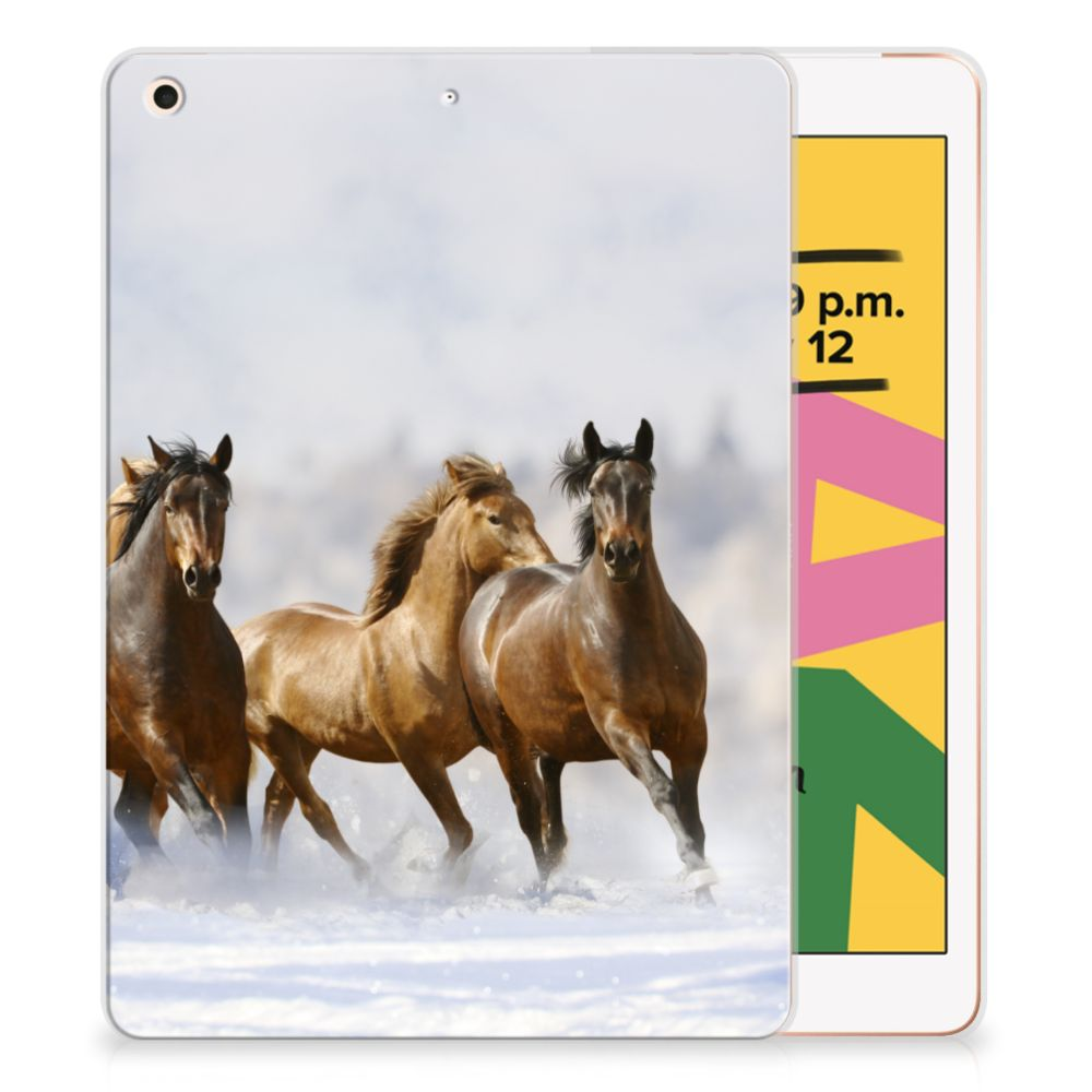 Apple iPad 10.2 (2019) Back Case Paarden