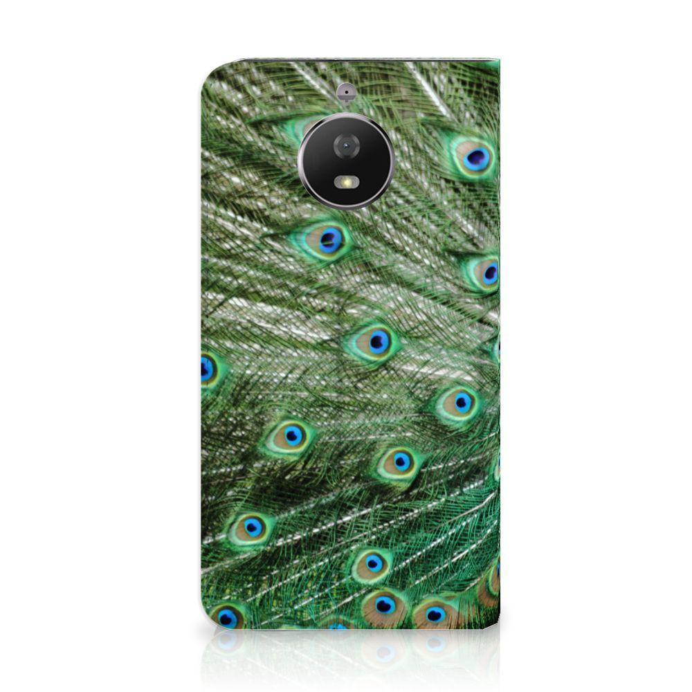 Motorola Moto G5S Standcase Hoesje Design Pauw