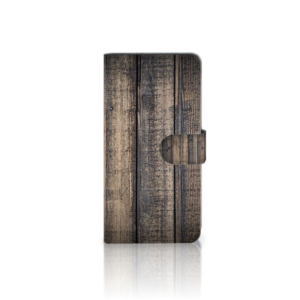 Samsung Galaxy J4 Plus (2018) Boekhoesje Design Steigerhout