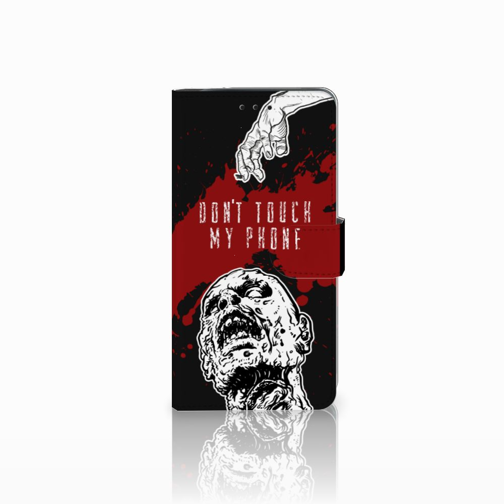 Samsung Galaxy J6 Plus (2018) Boekhoesje Design Zombie Blood