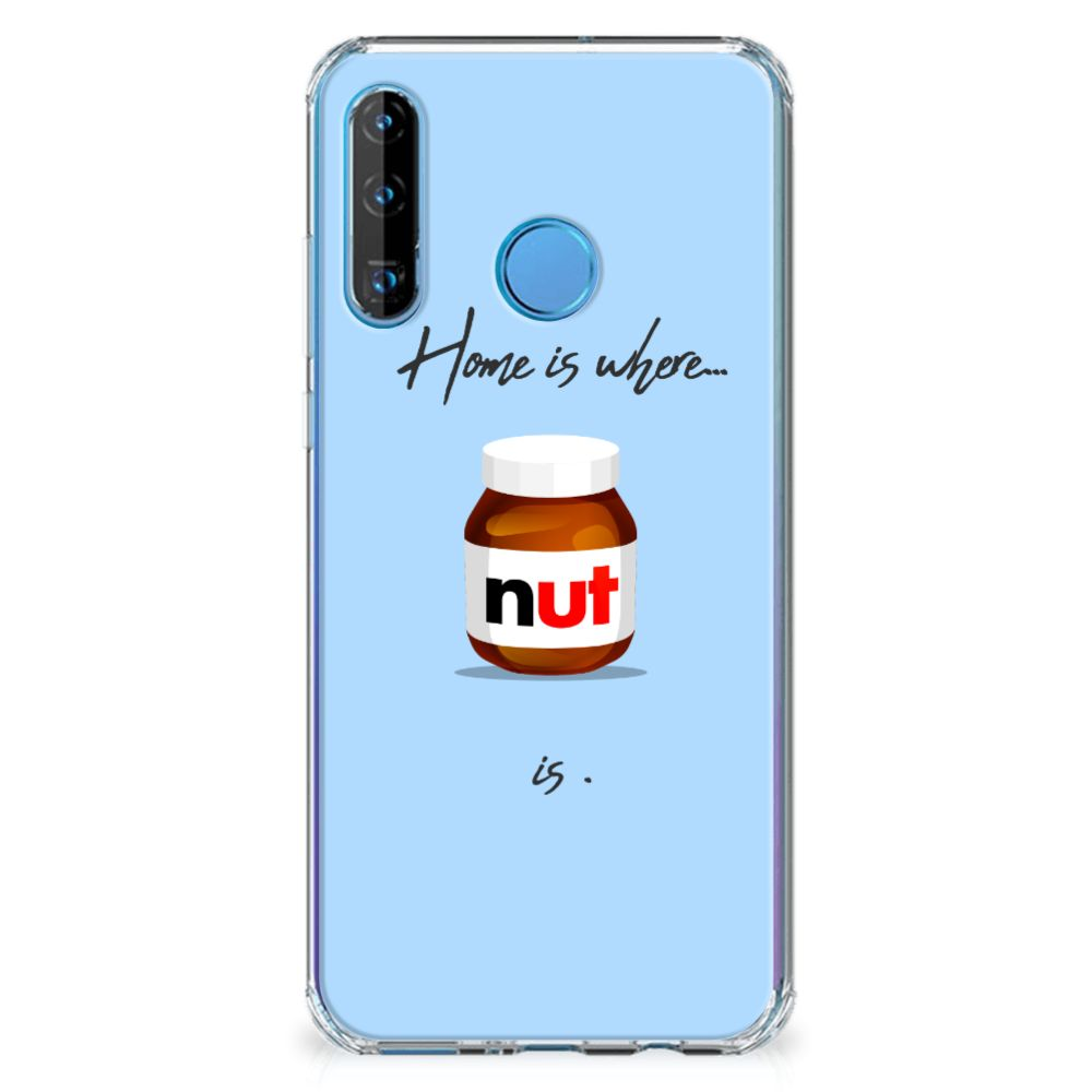 Huawei P30 Lite Beschermhoes Nut Home