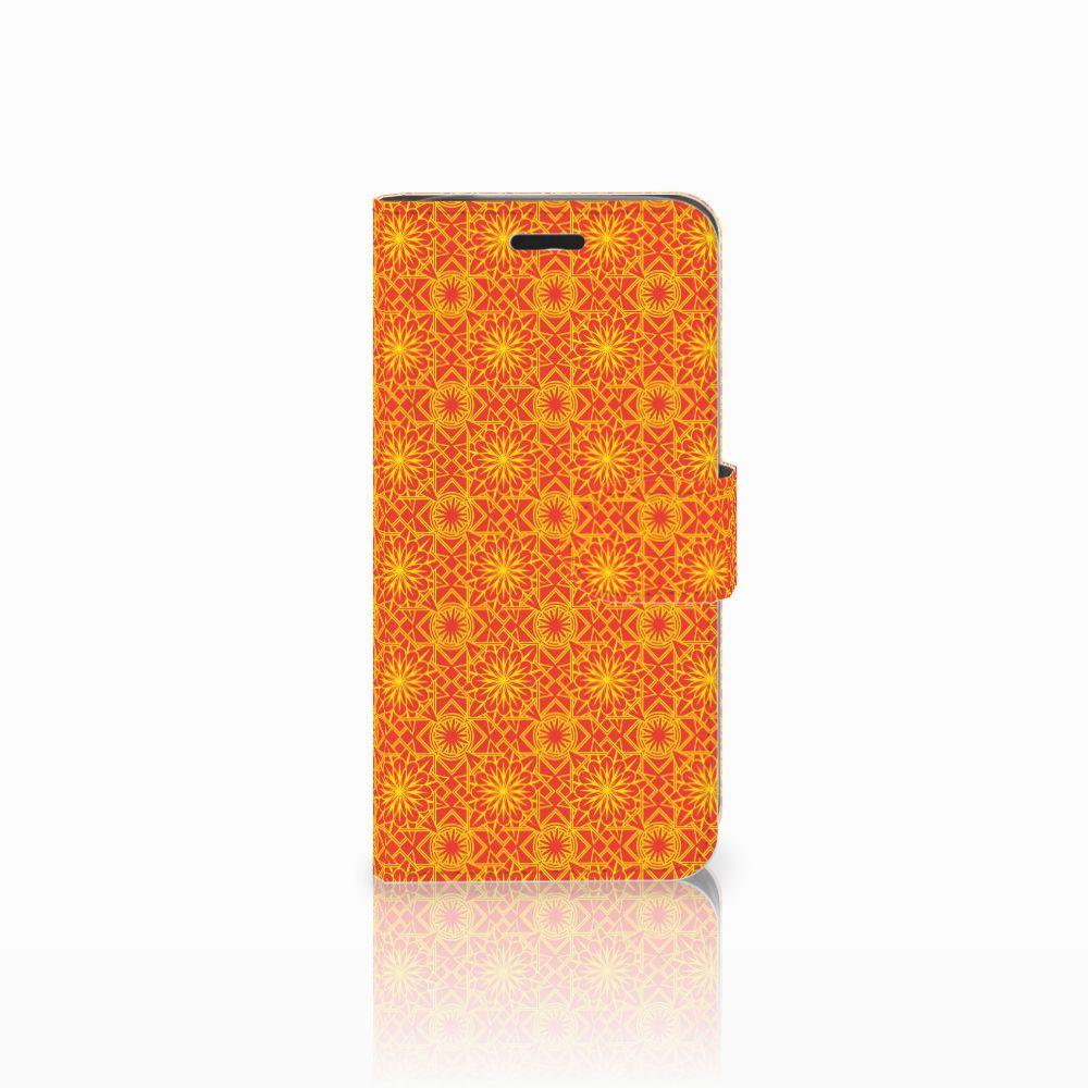 Acer Liquid Z530 | Z530s Boekhoesje Design Batik Orange