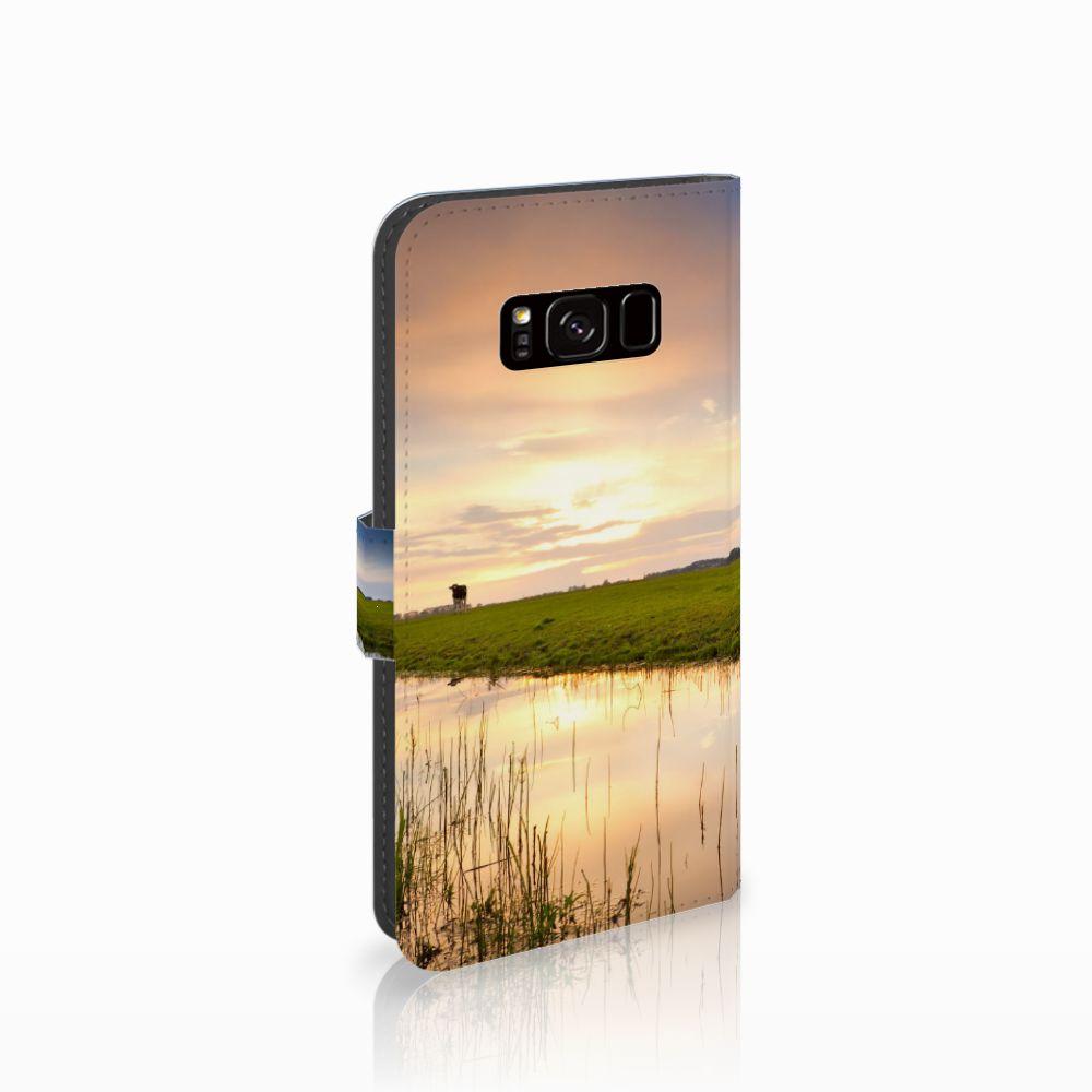 Samsung Galaxy S8 Boekhoesje Design Koe
