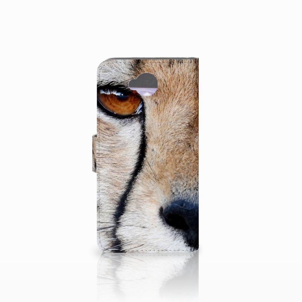 Microsoft Lumia 650 Telefoonhoesje met Pasjes Cheetah