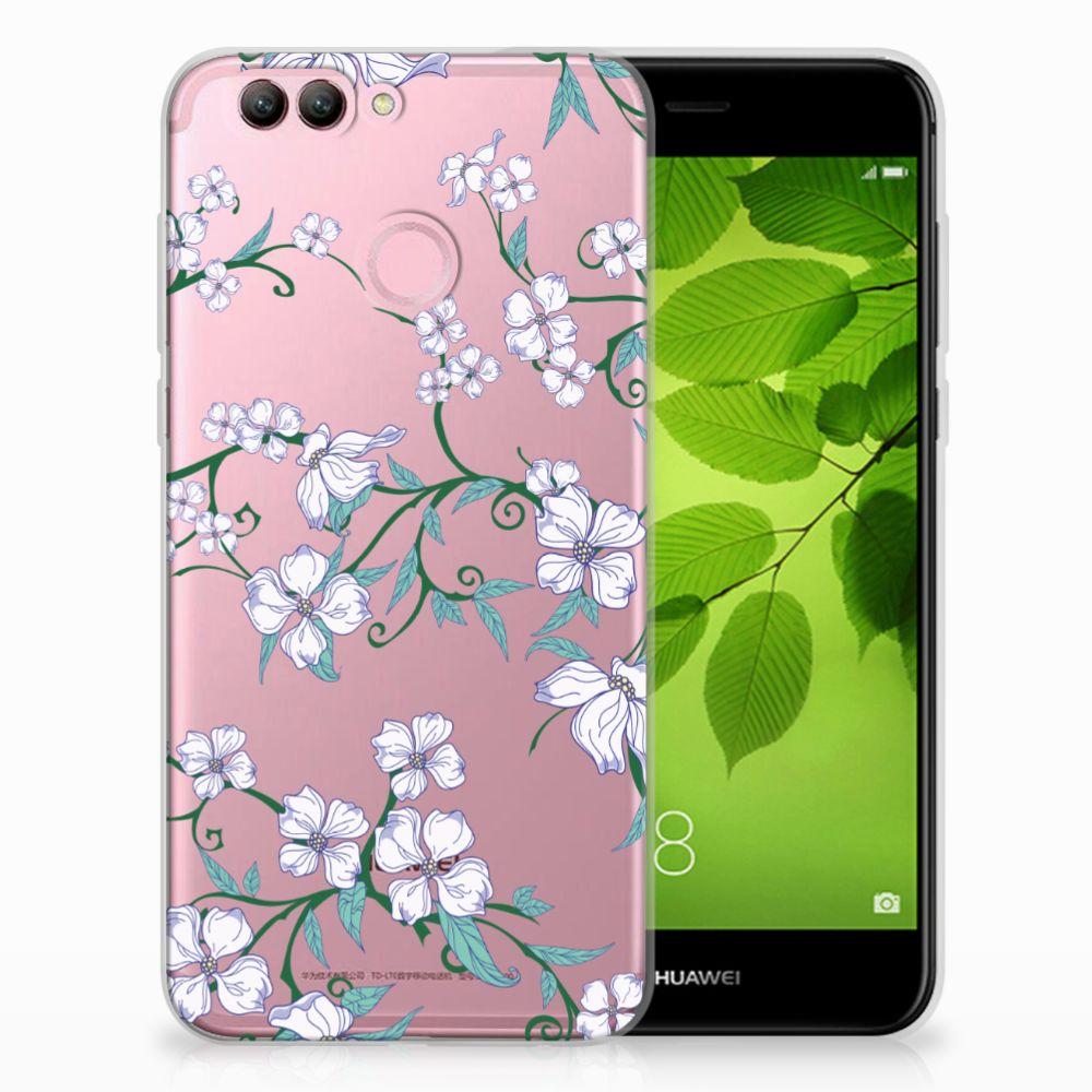 Huawei Nova 2 Uniek TPU Hoesje Blossom White