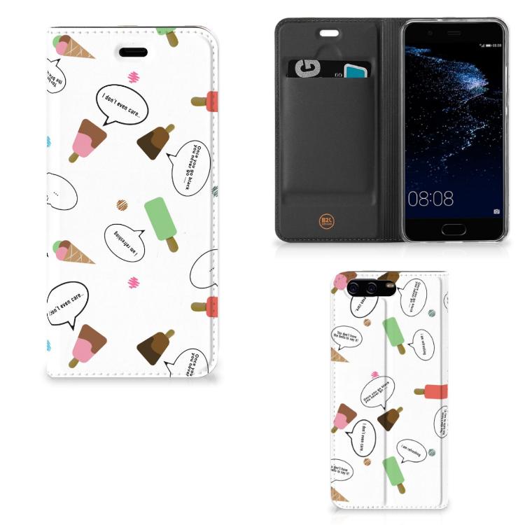 Huawei P10 Flip Style Cover IJsjes