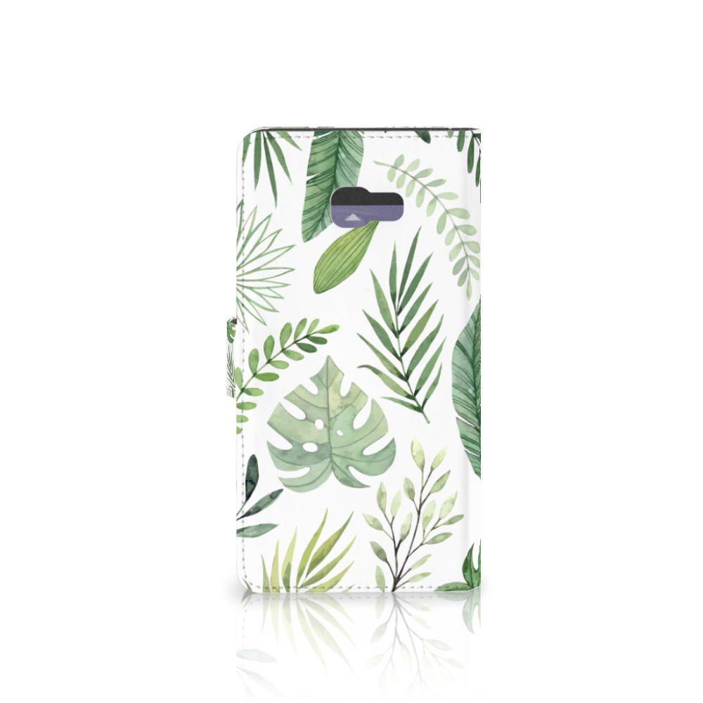 Samsung Galaxy A7 2017 Hoesje Leaves