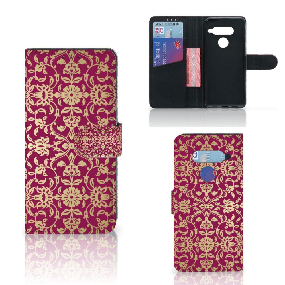Wallet Case LG V40 Thinq Barok Pink