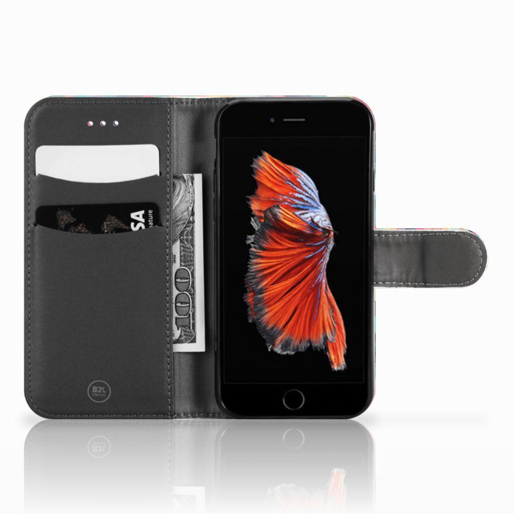 Apple iPhone 6 | 6s Uniek Boekhoesje Geruit