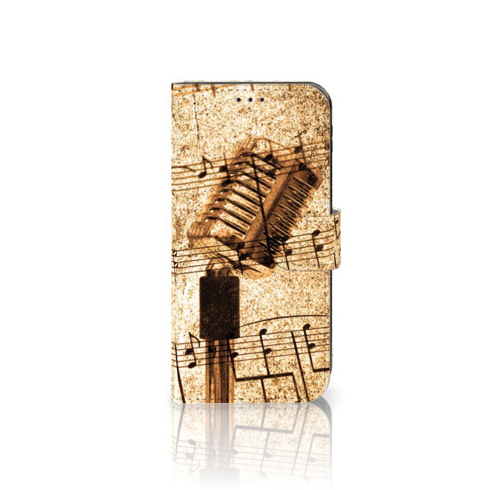 Samsung Galaxy J5 2017 Uniek Boekhoesje Bladmuziek