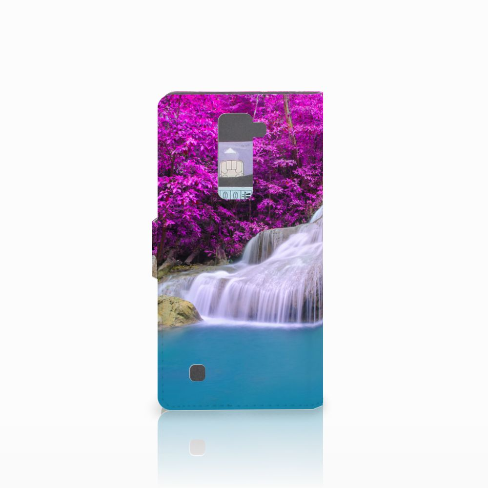 LG K10 2015 Flip Cover Waterval
