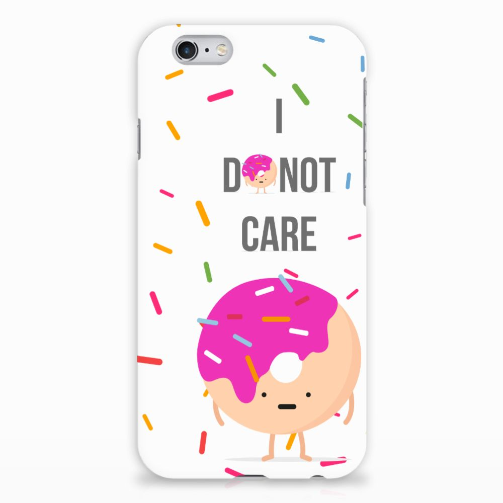Apple iPhone 6 | 6s Hardcover Donut Roze