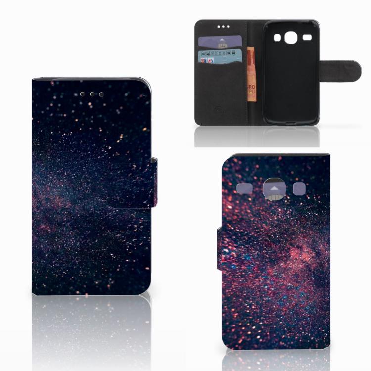 Samsung Galaxy Core i8260 Bookcase Stars