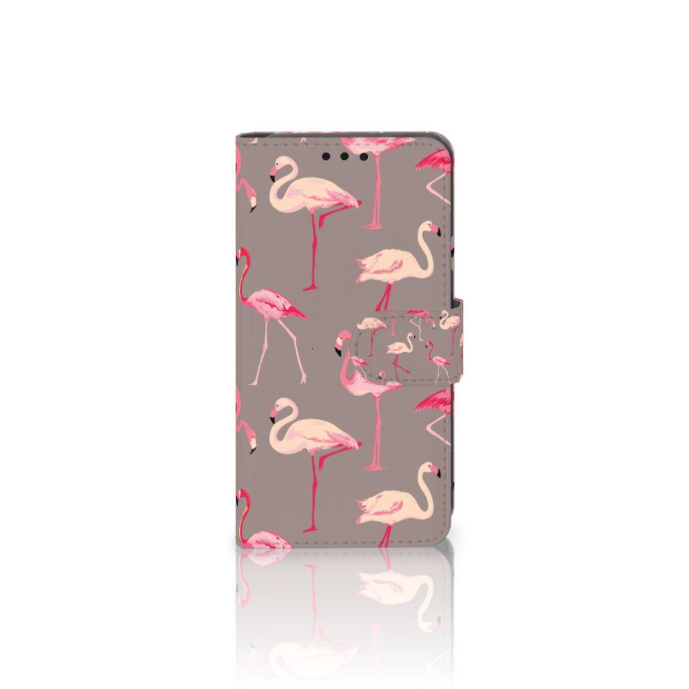 LG X Style Uniek Boekhoesje Flamingo
