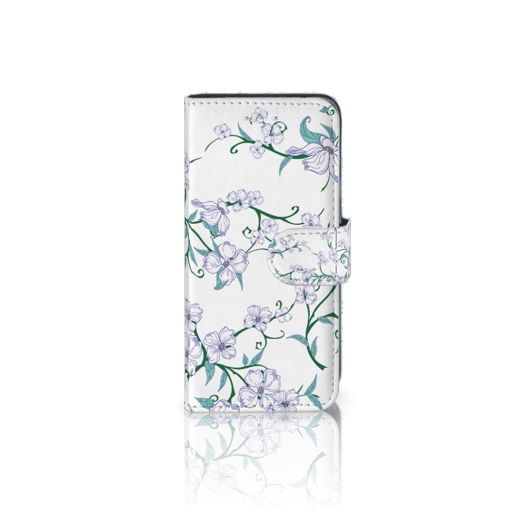 Samsung Galaxy A5 2016 Uniek Boekhoesje Blossom White