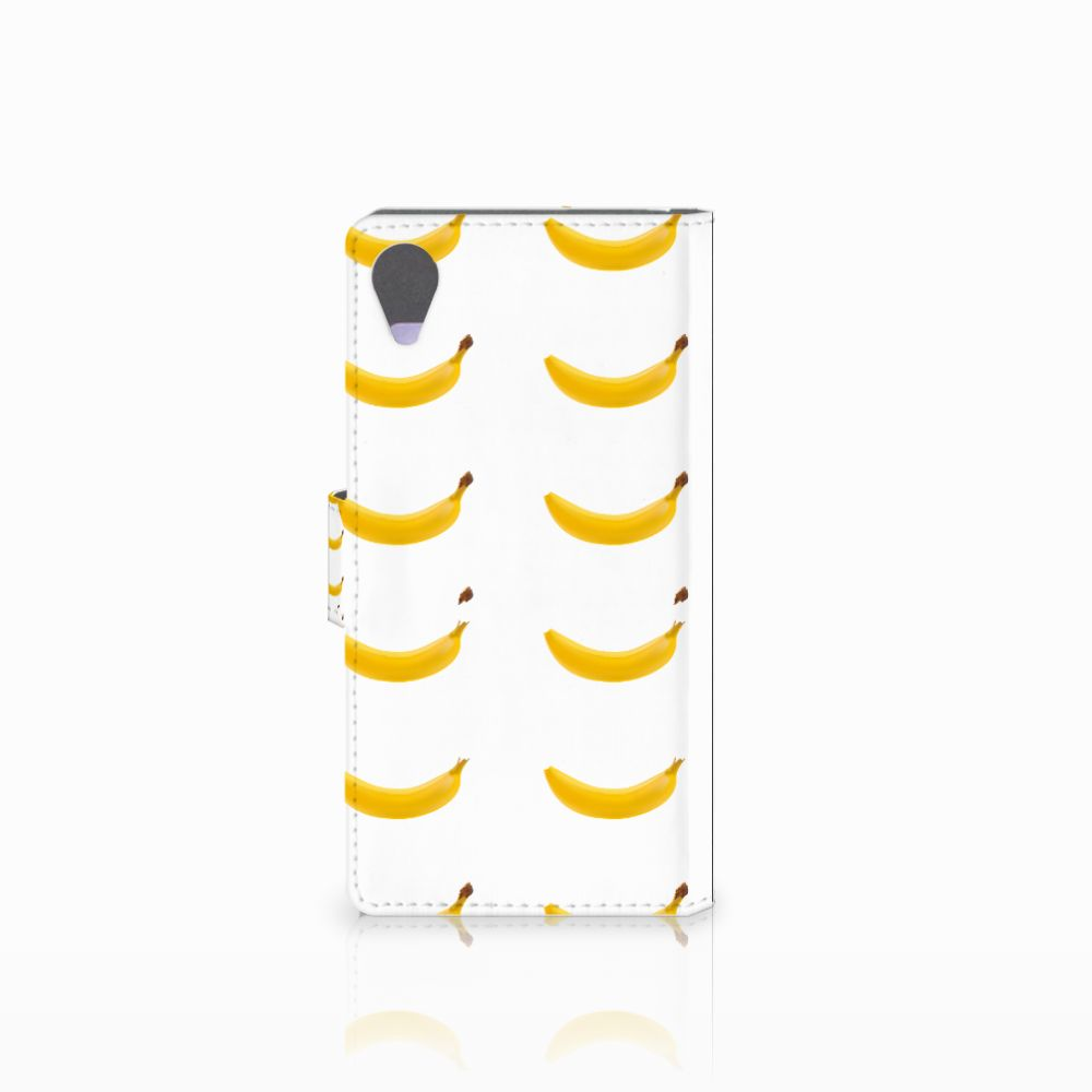 Sony Xperia X Performance Book Cover Banana